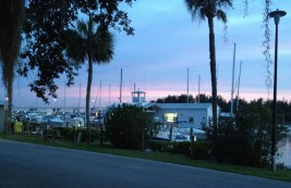 Vero Beach Marina where we stayed on a mooring ball